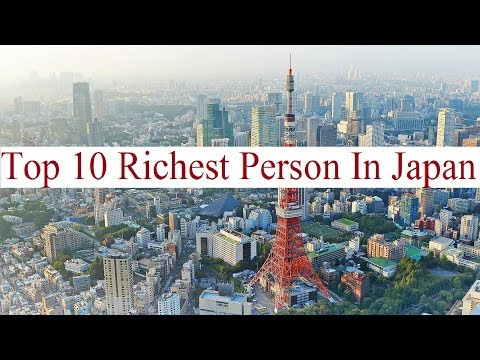Top 10 Richest Person In Japan