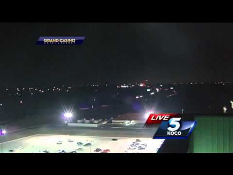 UFO Caught On Live TV Flying Over Oklahoma City