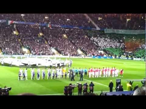 Celtic vs Benfica, Zadok The Priest