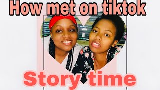 HOW MET ON TIKTOK?/SOUTH AFRICAN YOUTUBER// COUPLE CHANNEL #love#tiktok# couples# lesbians