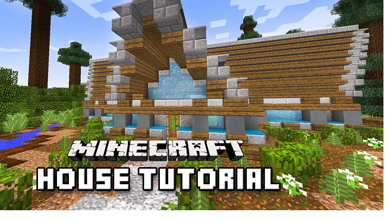 How to make a modern mountain house in minecraft scarland for How to build a house in a mountain