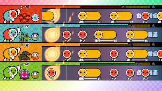 【太鼓の達人WiiU】十露盤2000(玄人譜面)【全難易度同時鑑賞】