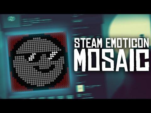 Steam Emoji/Emoticon Mosaic Tutorial