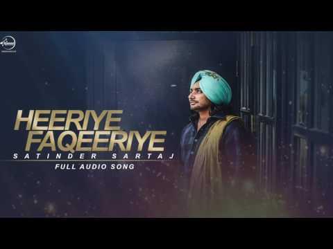Heeriye Faqeeriye Full Audio Song   Satinder Sartaj   Punjabi Song Collection   Speed Records   YouT
