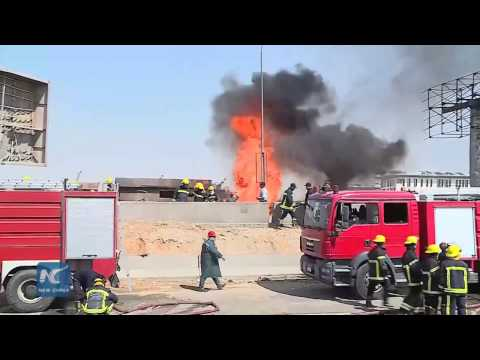 One killed, 17 injured in gas pipeline explosion in Cairo