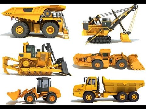 HEMM (Heavy Earth Moving Machinery)|| all mine machinery ||  list of mine machinery(hemm)@mine study
