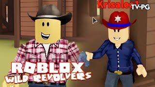 IM A COWBOY IN THE WILD WEST! | Roblox Wild Revolvers UPDATE!