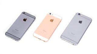 iPhone 5S vs. iPhone SE vs. iPhone 6 - внезапное сравнение