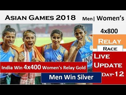 Asian Games 2018: India Win 4x400M Women's Relay Gold, Men Win Silver