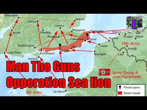 HOI4- Man The Guns- Germany World Conquest Guide (Operation Sea Lion)