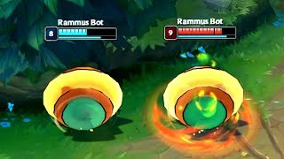 League of BOTS #1 - RAMMUS ROLLING BATTLE!