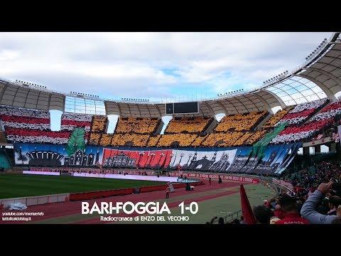 Bari-Foggia 1-0 - Radiocronaca di Enzo Del Vecchio (26/11/2017) da Rai Radio 1