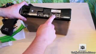 New Xbox 360 Slim Elite S Unboxing - 250GB HD / WiFi / Kinect Ready / E3