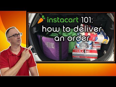 Instacart 101: How to Deliver an Instacart Order