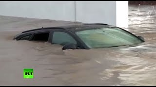 Video: Deadly storm flood in Italy