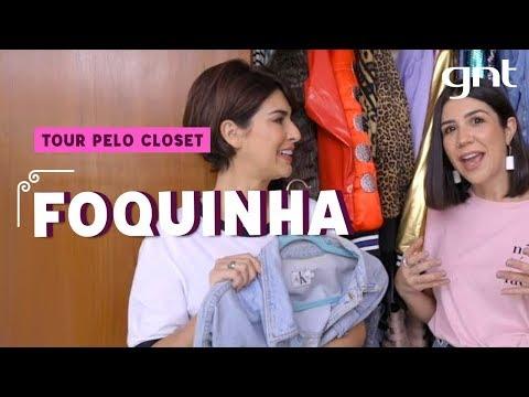 Tour Pelo Closet da Foquinha  Fernanda Paes Leme