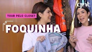 Tour Pelo Closet da Foquinha | Fernanda Paes Leme