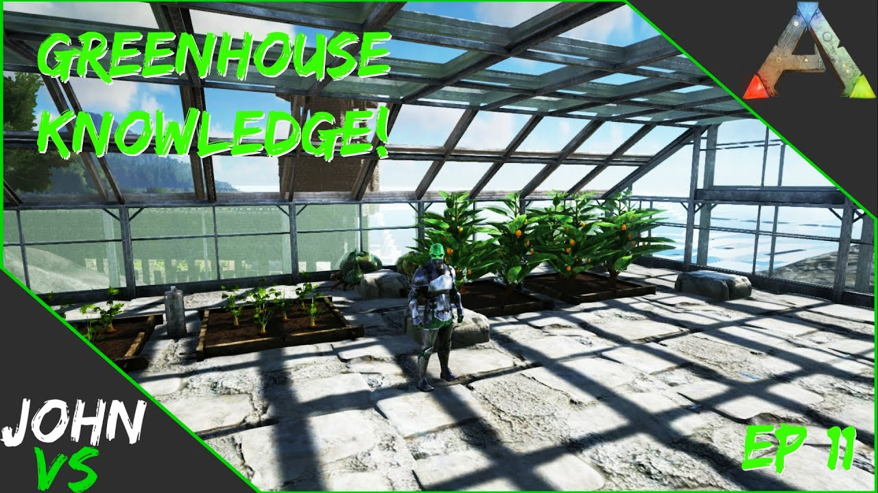 Ark survival evolved server creeping greenhouse knowledge youtube malvernweather Image collections