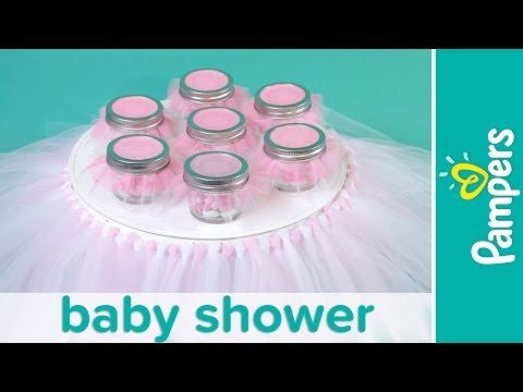 Princess Baby Shower How To Make Tutu Cake Stand