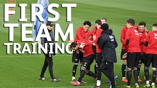 Attention turns to Chelsea | First Team Training