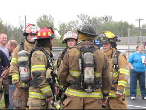 KSFFA Fire School, Bentley Fire Department, Bentley Kansas 2012