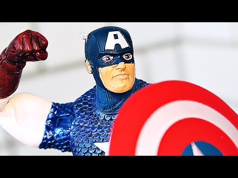 Фигурка КАПИТАНА АМЕРИКИ от Marvel Select!