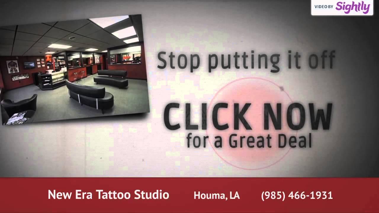New Era Tattoo Studio Youtube