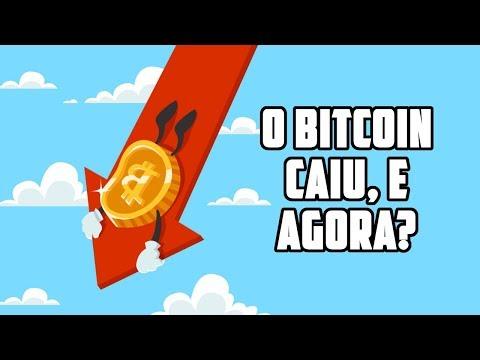 O Bitcoin caiu, e agora?