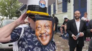 Fats Domino Second-line in New Orleans
