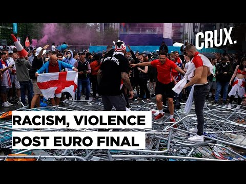 Violence & Racist Abuse of Players: Outrage Over England Fans' Actions After Euro 2020 Final Loss
