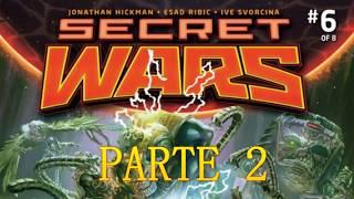 MARVEL SECRET WARS - la guerra secreta parte 2
