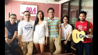 Lingua visited Cosmopolitan 90.4 FM at Breakfast Club