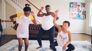 BABY MOMMA DANCE (43 WEEKS PREGNANT!) thumbnail