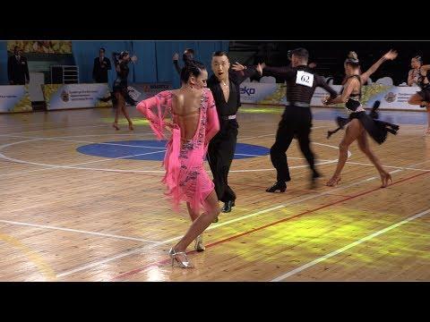 Oleg Chzhen - Alina Ageeva RUS, Samba | WDSF International Open Latin