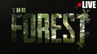 ZBUDUJEMY DZISIAJ BAZĘ !  | THE FOREST | LIVE - Na żywo
