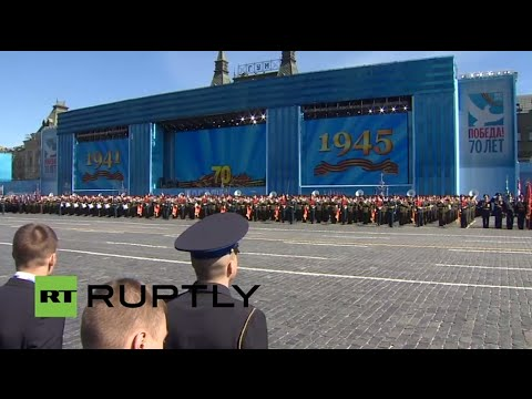 LIVE: Moscow holds final V-Day parade rehearsal
