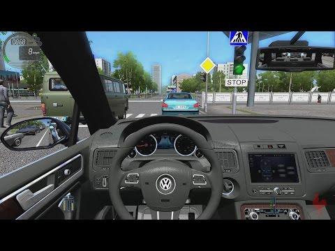 City Car Driving - Volkswagen Touareg V8 TDI