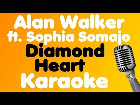 alan-walker-•-diamond-heart-(feat.-sophia-somajo)-•-karaoke