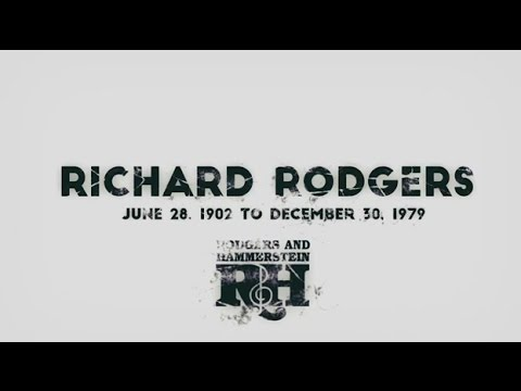 A Tribute to Richard Rodgers
