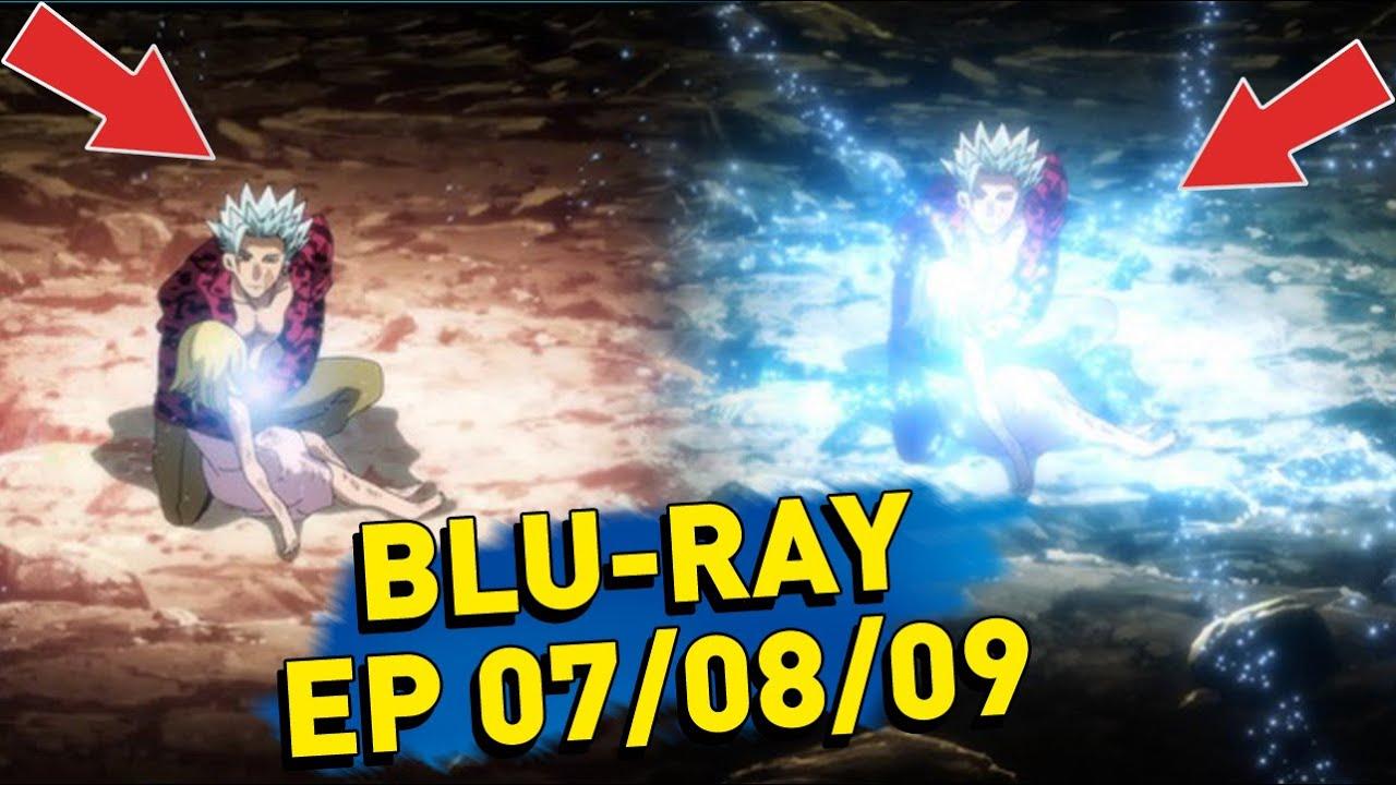 Download NANATSU NO TAIZAI  BLU-RAY VS  NETFLIX/TV -TEMPORADA FINAL - EPISODIOS 07 / 08 / 09  #Shorts