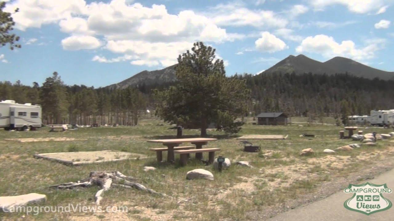 Glacier Basin Campground Rocky
