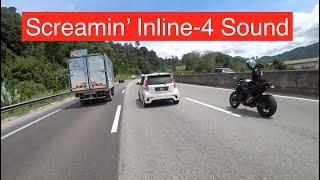 Yamaha R1 Screaming Sound