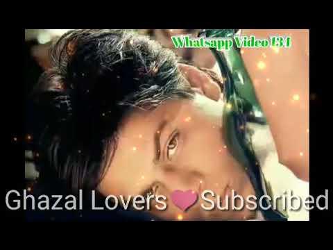 😟Ae Ghame zindagi kuch to dy sonu nigham ghazal green screen video birthday video status