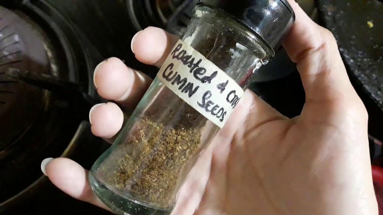 how to crush cumin seeds