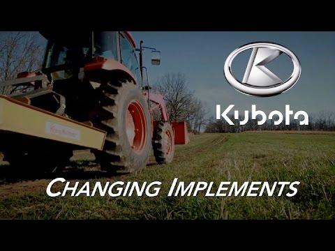 Kubota Tractors | Lift Arm Adjustments