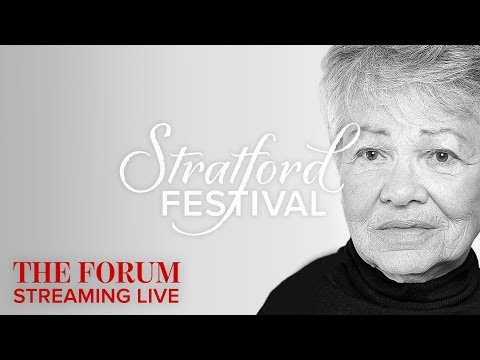 The Artists Voice | Stratford Festival Forum 2017