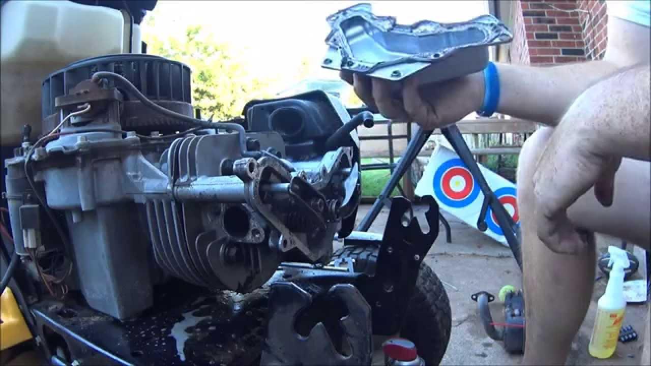 Revisit Cub Cudet Kohler 20HP valve cover gasket repair ...