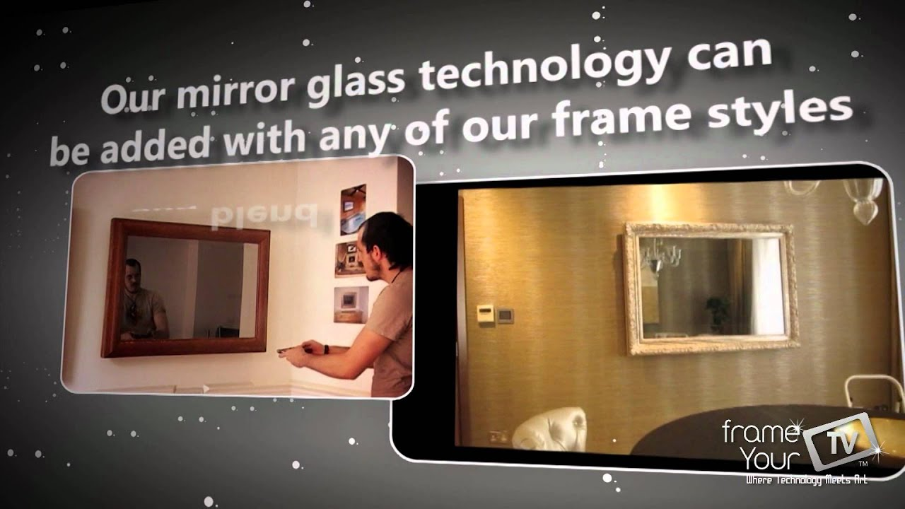 FrameYourTV | TV Mirror Frames - YouTube