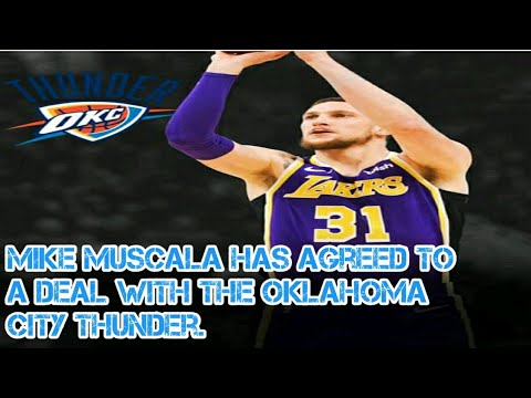 Mike Muscala Lakers Debut