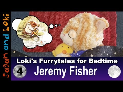 Jeremy Fisher 🌙📘 Relaxing Classic Literature Bedtime Reading, with Meditation Time, for Kids